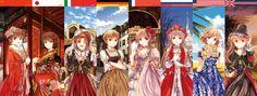 Fem! China,Fem! Japan,Fem! Italy,Fem! Germany,Fem! France,Fem! Russia,Fem! America and Fem! England!!