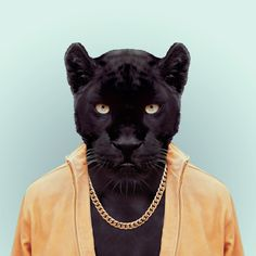 PANTHER by Yago Partal  for ZOO PORTRAITS