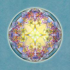 Breath Of Life Mandala by Jo Thomas Blaine