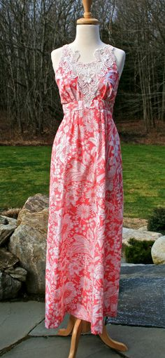 Vintage Lilly Pulitzer Maxi Dress