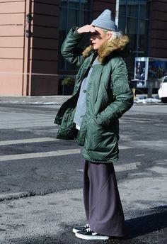 New York Fashion Week F/W 2014 Street Style by Tommy Ton.
