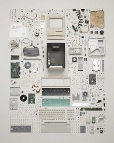 Early Mac :: Knolling for Artists & Designers