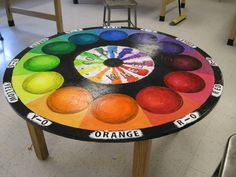 alternative color wheel projects for high school - Google Search