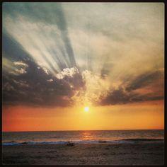 Awesome Sunday sunset at Ganeshgule in coastal Maharashtra on 26th January 2014.