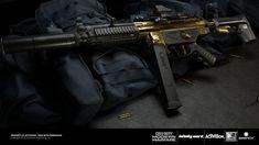 """ArtStation - Call of Duty: Modern Warfare """"Ducat"""" Blueprint, Sebastien Roy Future Weapons, Modern Warfare, Call Of Duty, Great Britain"""
