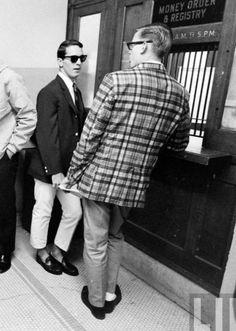 Yale freshmen 1964. Madras blazers are a style