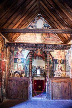 Archangel Michael - Pedoulas - Troodos Church - Cyprus - altar
