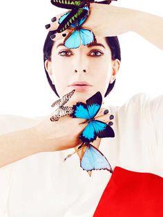 """marina abramovic   Marina Abramovic: """"Al igual que el arte, la moda tiene grandes ..."""