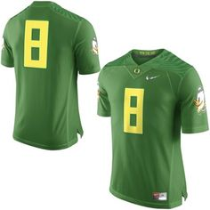 Nike | No. 8 Oregon Ducks Nike 2015 College Football Playoff Rose Bowl Special Event Jersey - Apple Green