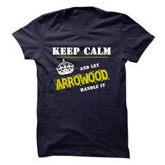 (Tshirt Cool Design) Let ARROWOOD Handle It Tshirt-Online Hoodies, Funny Tee Shirts