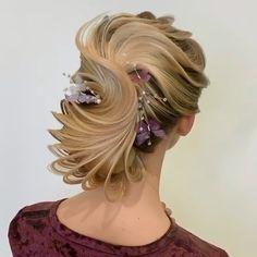 Hair hairstyles for long hair videos Hair Style Vedio, Competition Hair, Bridal Hair Buns, Wedding Hairstyles Tutorial, Hair Upstyles, Elegant Wedding Hair, Wedding Updo, Long Hair Video, Hot Hair Styles