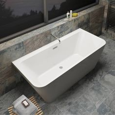 Verso Back to Wall Bath - Victoria Plumb