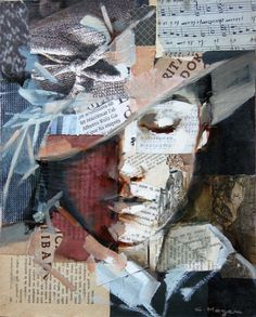 This collage is created by using mixed media.he woman in the picture seems very … – Collage Fashion 2019 Art And Illustration, Art Illustrations, Arte Inspo, Kunst Inspo, Mixed Media Painting, Mixed Media Collage, Painting Collage, Acrylic Paintings, Mixed Media Faces