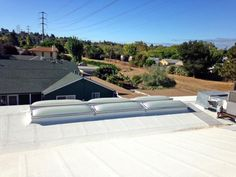 Nice Springstowne Library Vallejo, CA State Roofing Systems EcoSky3   E3CS Units