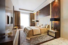 bedroom art deco Extravagant Taste, Discreet Luxury : Shape of Art Deco Interior in St. Petersburg