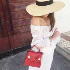 bolsa vermelha - Adorei !!!