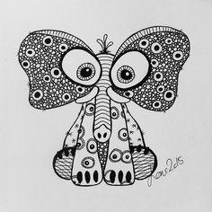 min frste zen doodling tegning.