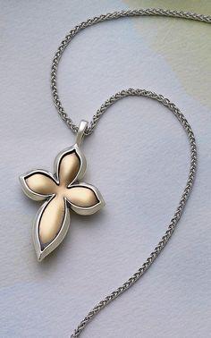 Iris Cross from James Avery Jewelry