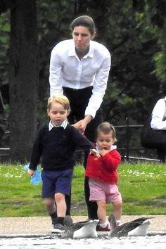Prince George Princess Charlotte 'Proud Nanny' -- Kate Middleton Hired Spanish Woman Take Care Royal Children