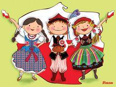 """MY LIFE, MY PASSION, MY CHOICE..."": Polska - Moja Ojczyzna Free Jigsaws, Learn Polish, Zumba Kids, Polish Language, Polish Folk Art, Puzzle Games For Kids, Jw Gifts, National Symbols, Folk Dance"