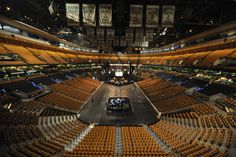 TD Garden. Home to the Boston Celtics and Bruins.