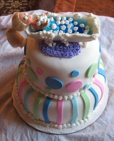 spa birthday party cakes   ... this cake for a 10 year old that was having an american girl spa party