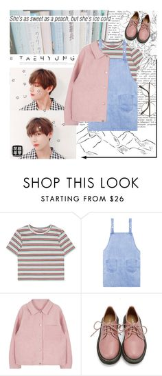"""Love is lie"" by taehyungiee ❤ liked on Polyvore featuring Retrò and ZeroUV"