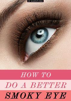 how to do a better smokey eye - smokey eye tips