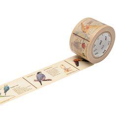 mt Washi Tape / Bird