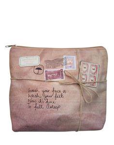 Disaster Designs Paper Plane toiletries bag