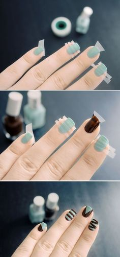Easy+Nail+Art+Ideas+and+Designs+for+Beginners+(22)