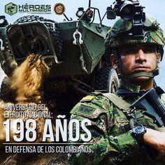 198 años del ejercito nacional de Colombia!!