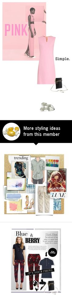 """""""pink."""" by sherbetfountain on Polyvore"""