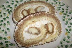 """""""Tiramisu"""" roláda Tiramisu, Hummus, Pancakes, Breakfast, Ethnic Recipes, Food, Morning Coffee, Essen, Pancake"""