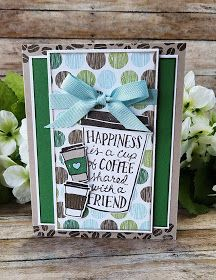 The Stampin B: Coffee Cup Friend Card