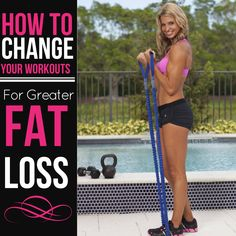 This is How To Change Your Workouts For Greater Fat Loss.  Great to see 2 different sample workouts and how to change them depending on what your goal is. Great tips on this blog.