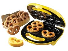 AmazonSmile: Nostalgia Electrics SPF-200 Soft Pretzel Factory: Electric Popcorn Poppers: Kitchen & Dining