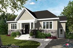 Including Pre-engineered wood siding on 4 sides Standard corners according to plan. Exterior Siding, Exterior House Colors, Engineered Wood Siding, Main Entrance Door, Architectural Shingles, Prefabricated Houses, Traditional House Plans, Casement Windows, Country Style Homes
