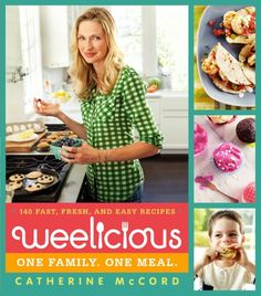 """""""Weelicious: 140 Fast, Fresh, and Easy Recipes"""" by Catherine McCord. It's easy to find recipes that are fast, recipes that are easy, and recipes that are kid-friendly. Finding all three in one? There's a challenge! Weelicious rises to it beautifully. Toddler Meals, Kids Meals, Easy Meals, Toddler Food, Family Meals, Toddler Recipes, Family Recipes, Teriyaki Pineapple Chicken, Slow Cooker Lentils"""