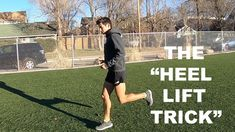 IMPROVE RUNNING FORM TECHNIQUE: HEEL LIFT TIP BY COACH SAGE CANADAY Runner Tips, Running Form, Training Plan, Burn Calories, Sage, Exercise, Heels, Runners, Fitness