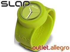 ZEGAREK silikonowy zielony SLAP WATCH -38%