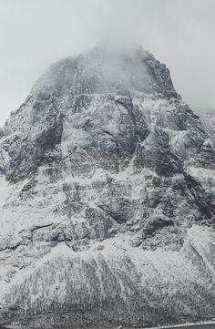 Mountain in Steigen, Norway.