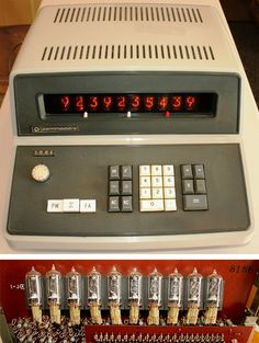 The Old Calculator Web Museum: Commodore 500e calculator