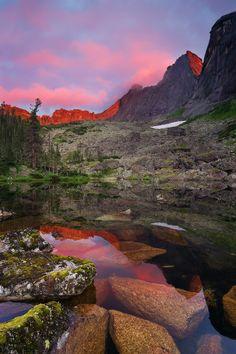 Russia, Siberia, Krasnoyarsk Region, Ergaki natural park