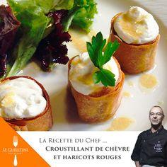Encore un délice du Christine ! Pour la recette, c'est ici : http://www.restaurantlechristine.com/la-recette-facon-christine/