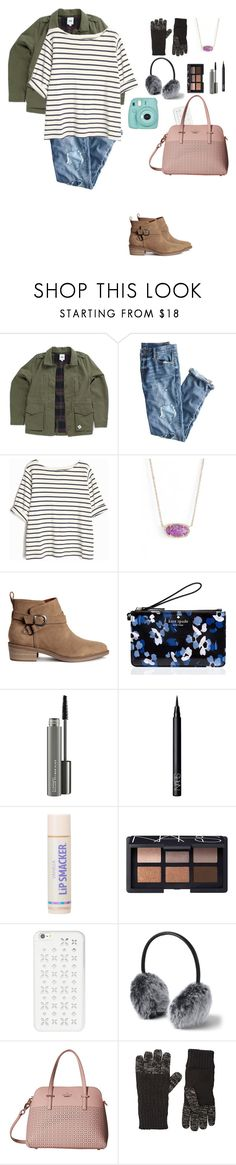 """""""Visiting friends in Washington DC"""" by so-not-perfect ❤ liked on Polyvore featuring Vans, J.Crew, Kendra Scott, H&M, Kate Spade, MAC Cosmetics, NARS Cosmetics, MICHAEL Michael Kors, Lands' End and Buji Baja"""