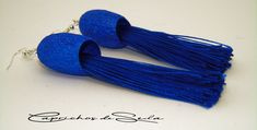 Date un capricho. Búscame en Amazon/Handmade. Tassel Necklace, Tassels, Earrings, Jewelry, Dyed Silk, Bangs, Colors, Ear Rings, Stud Earrings