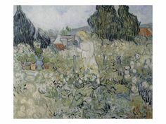 """Musee d'Orsay (Paris) (RMN), Posters and Prints at Art.com Mademoiselle Gachet dans son jardin à Auvers sur Oise Gogh Vincent Van 24"""" x 18"""" Giclee Print"""