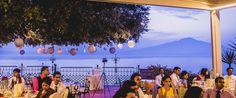 Sorrento Italy Wedding Reception | Villa Antiche Mura. Destination wedding venue & reception
