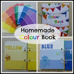 DO:  We did this and this is one of our kids favorite boos. They helped me make it and it was so fun.Craftulate: Homemade Colour Book